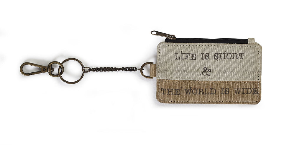 Life is Short - Coin Purse