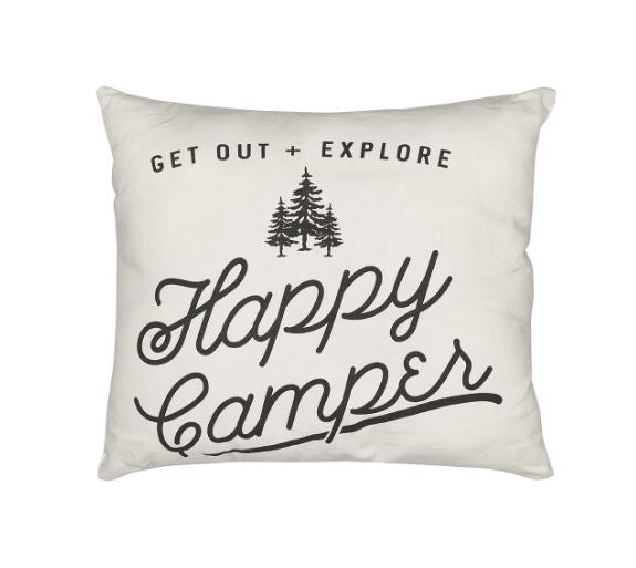 Happy Camper - Pillow