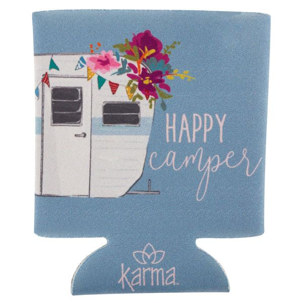 Happy Camper - Can Koozie