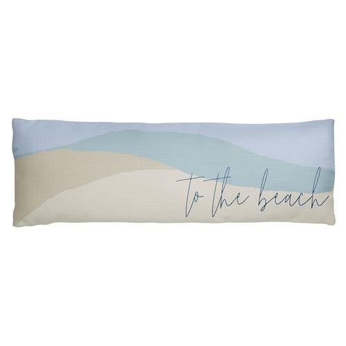 To The Beach - Lumbar Pillow