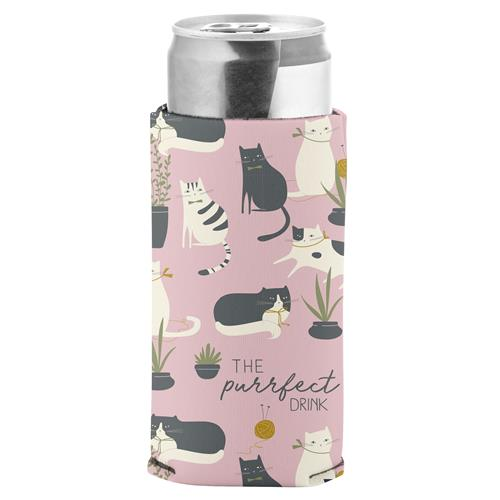 Purrfect - Slim Can Koozie