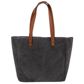 Hello - Stone Washed Canvas Tote