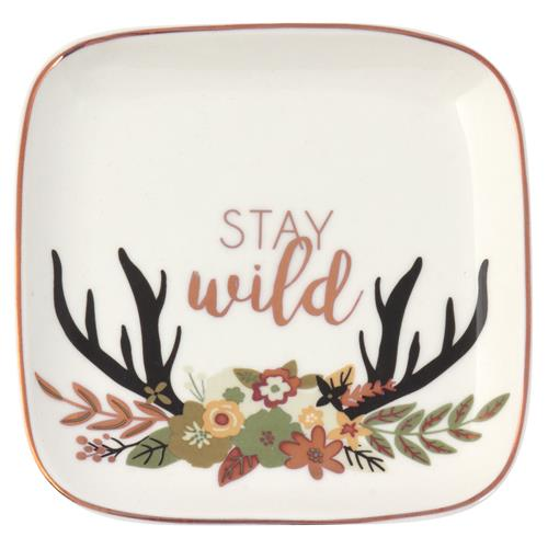 Stay Wild - Trinket Tray