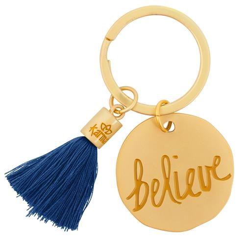Believe - Tassel Key Chain