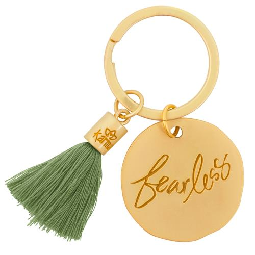 Fearless - Tassel Key Chain
