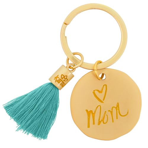 Mom - Tassel Key Chain
