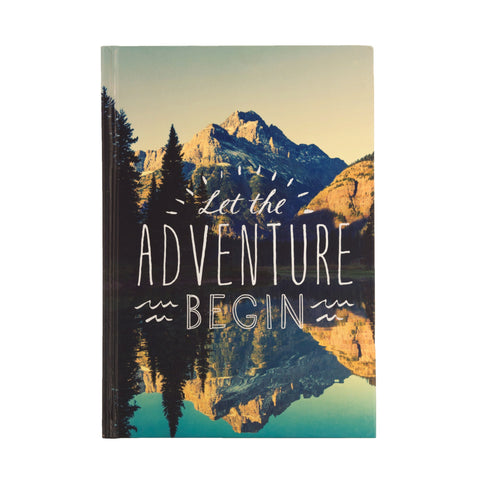 Let the Adventure Begin - Travel Journal
