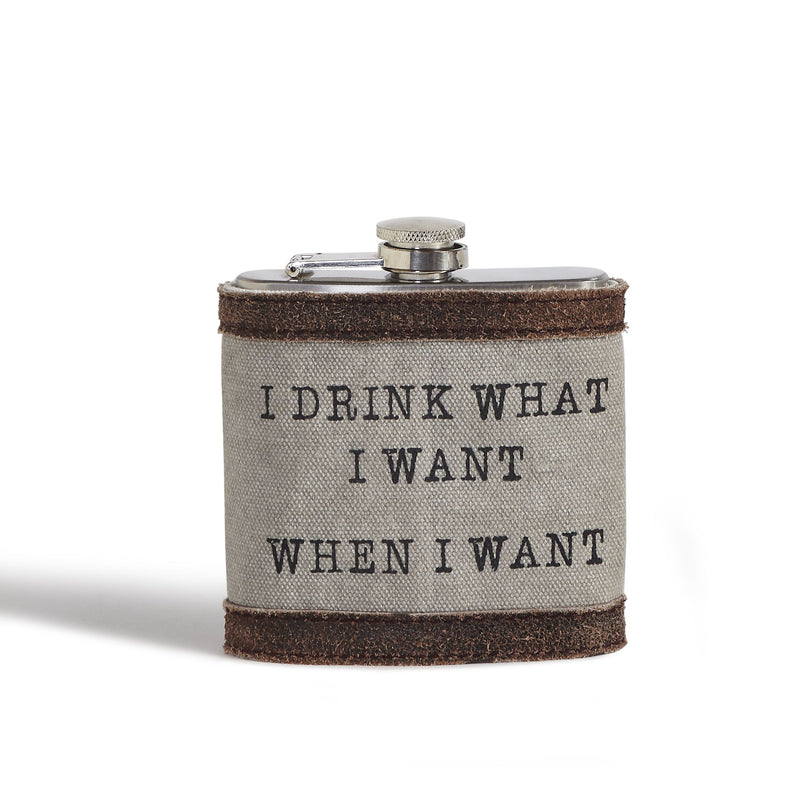 I Drink What I Want - Flask