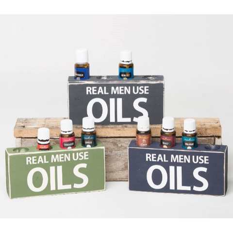 Real Men Use Oils - Medium Holder