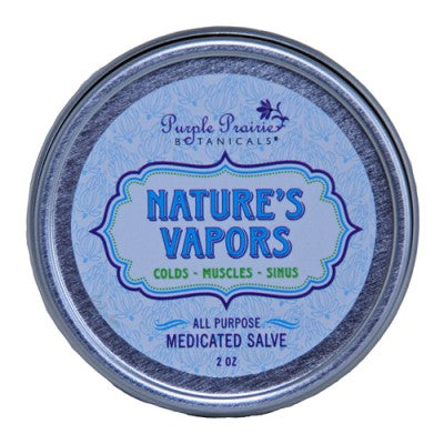 Nature's Vapors - Medicated Salve