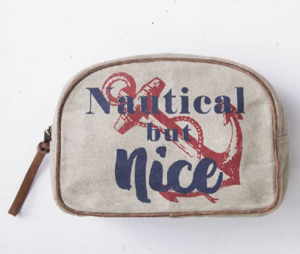 Nautical But Nice - Makeup Bag
