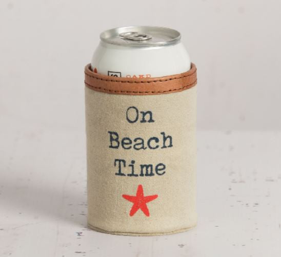 On Beach Time - Can Koozie