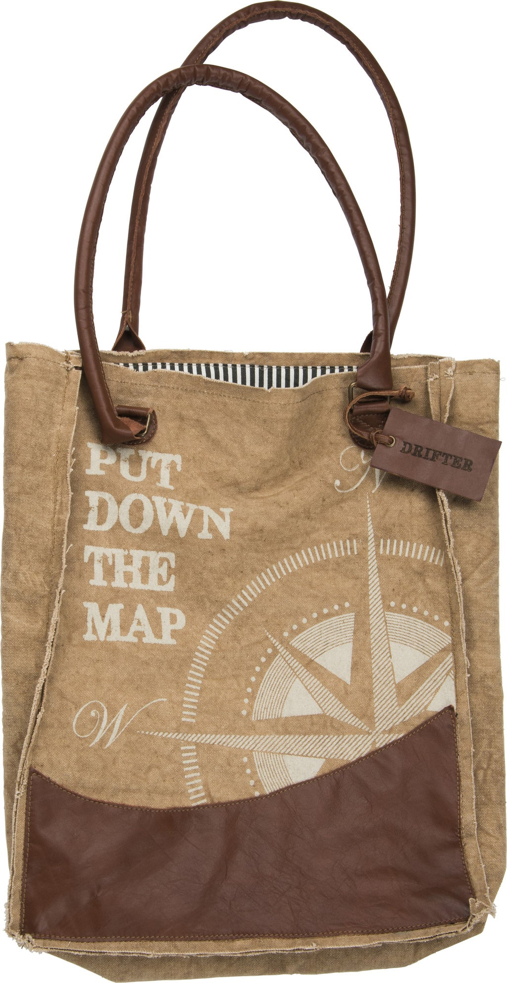 Put Down The Map - Canvas Bag