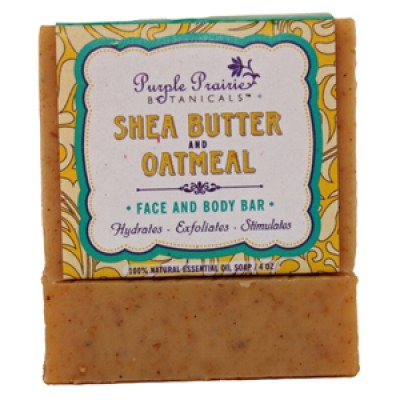 Shea Butter & Oatmeal - Face & Body Bar Soap
