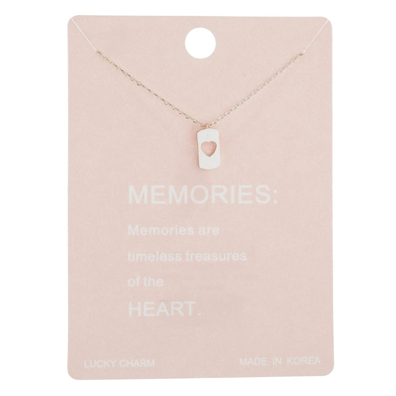 Memories White Gold Necklace