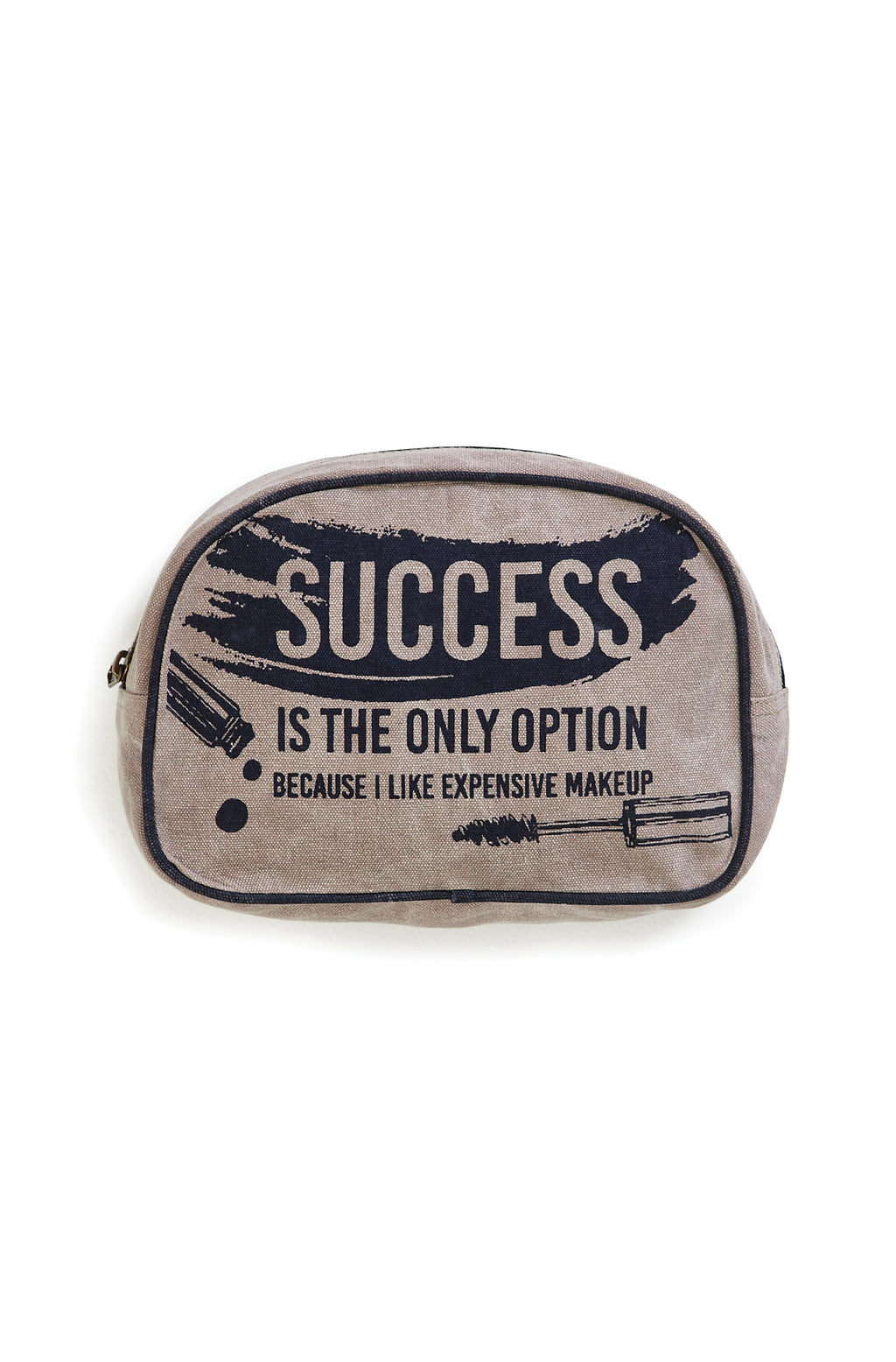Success is the only option Makeup Bag