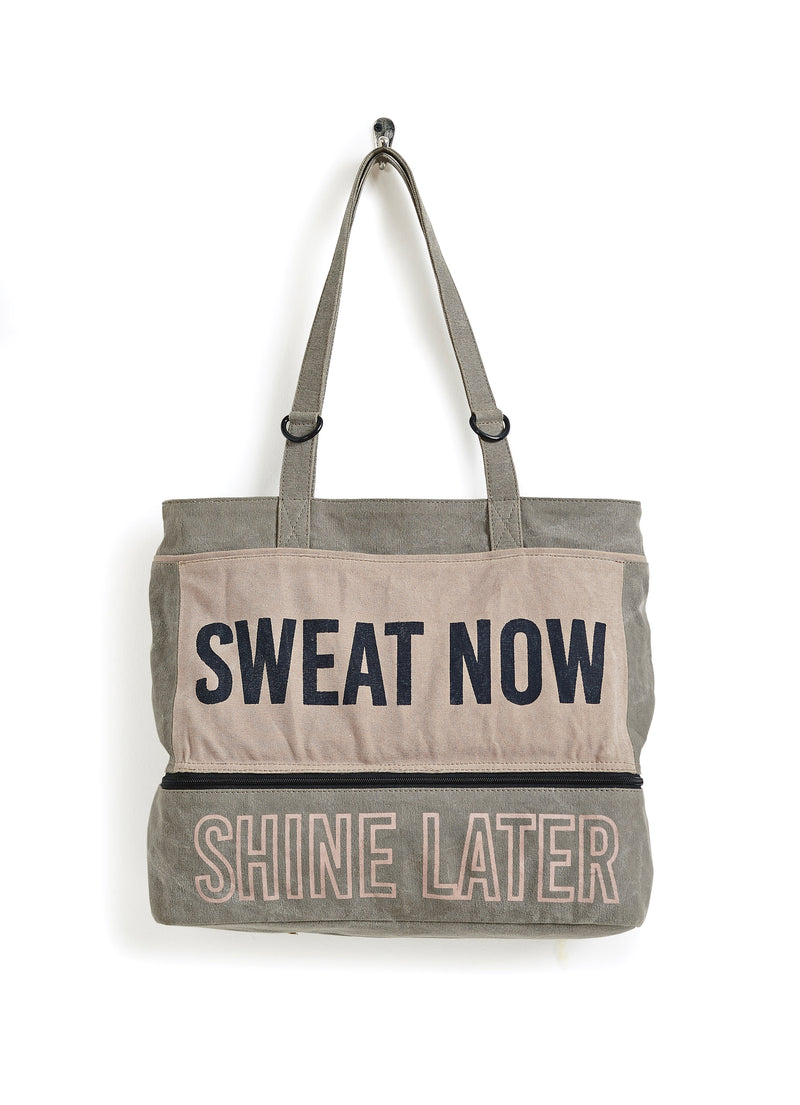 Time to Shine Gym Tote