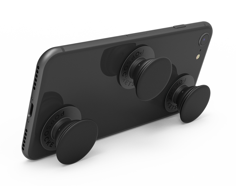 Triple Black Mini PopSocket