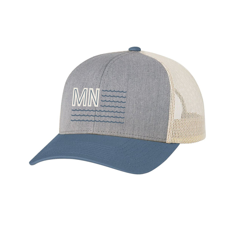 Land of 10K Snapback Gray/Blue