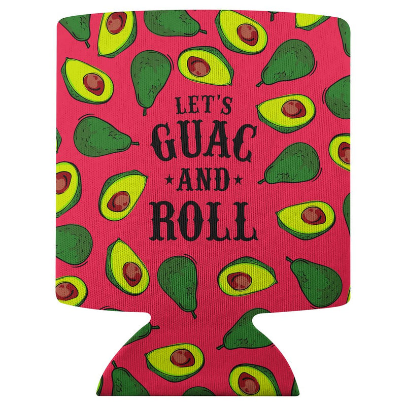 Guac and Roll - Can Koozie