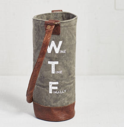 WTF - Wine Koozie/Carrier