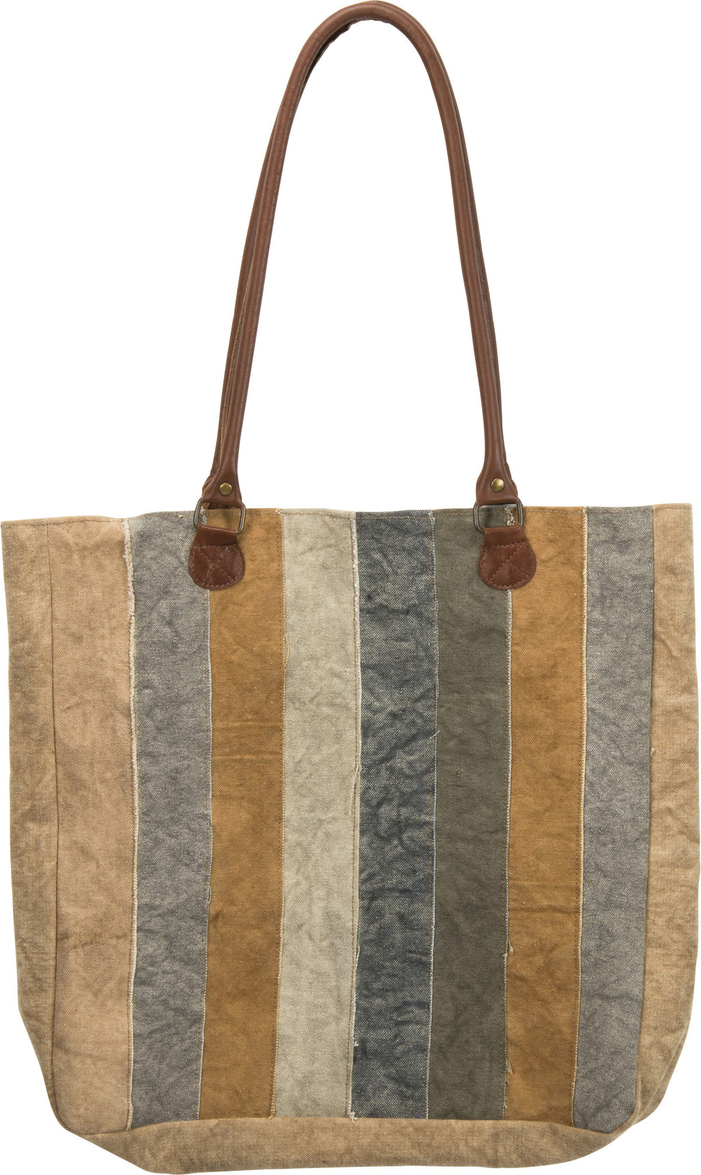 Yellow & Cream - Canvas Bag