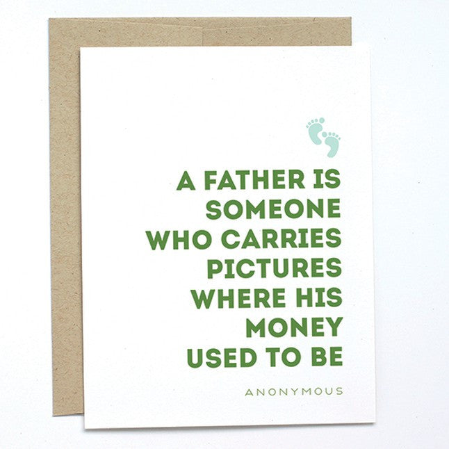 A Father - Note Card