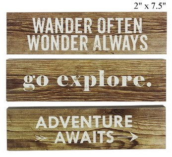 Small Adventure Signs
