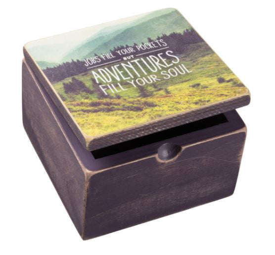 Adventures - Wooden Box