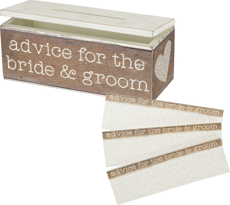 Advice for Bride & Groom - Box