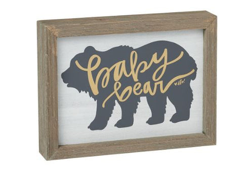 baby bear sign