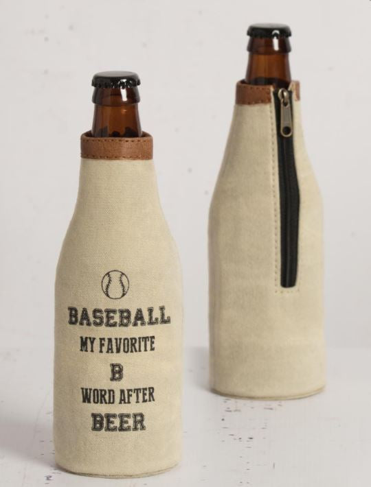 Baseball - Bottle Koozie