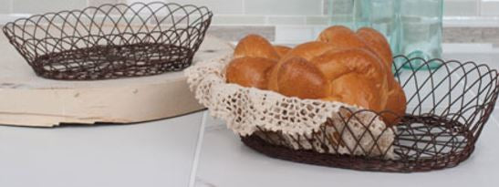 Wire Kitchen Basket - Two Sizes