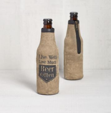 beer often bottle koozie