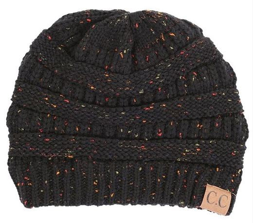 Multiple Colors: Adult CC Confetti Beanie