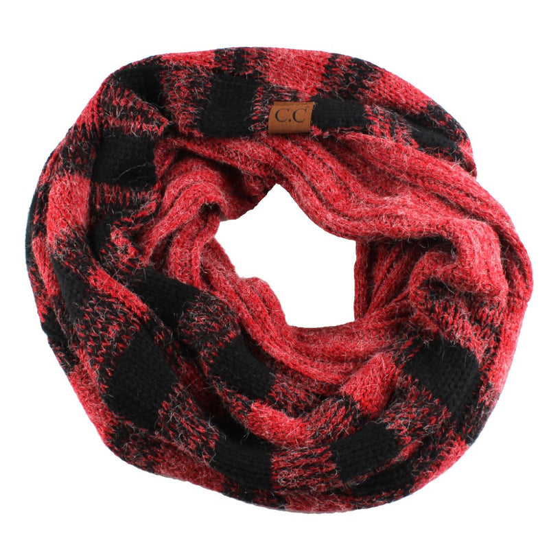 CC Infinity Scarf - Buffalo Plaid