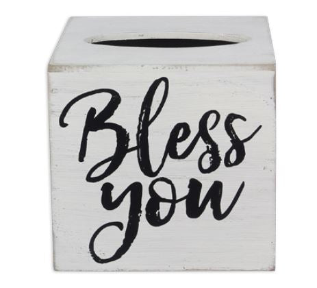Bless You - Tissue Box Holder