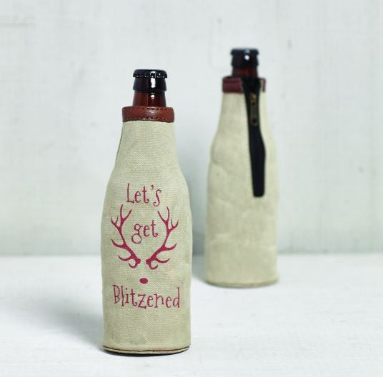 Blitzened - Bottle Koozie