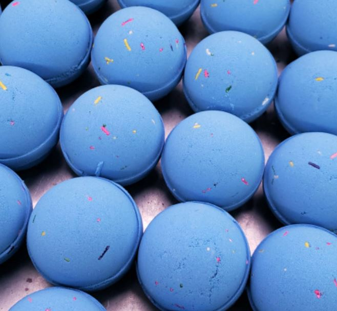 Blue Burst Ice Cream - Bath Bomb