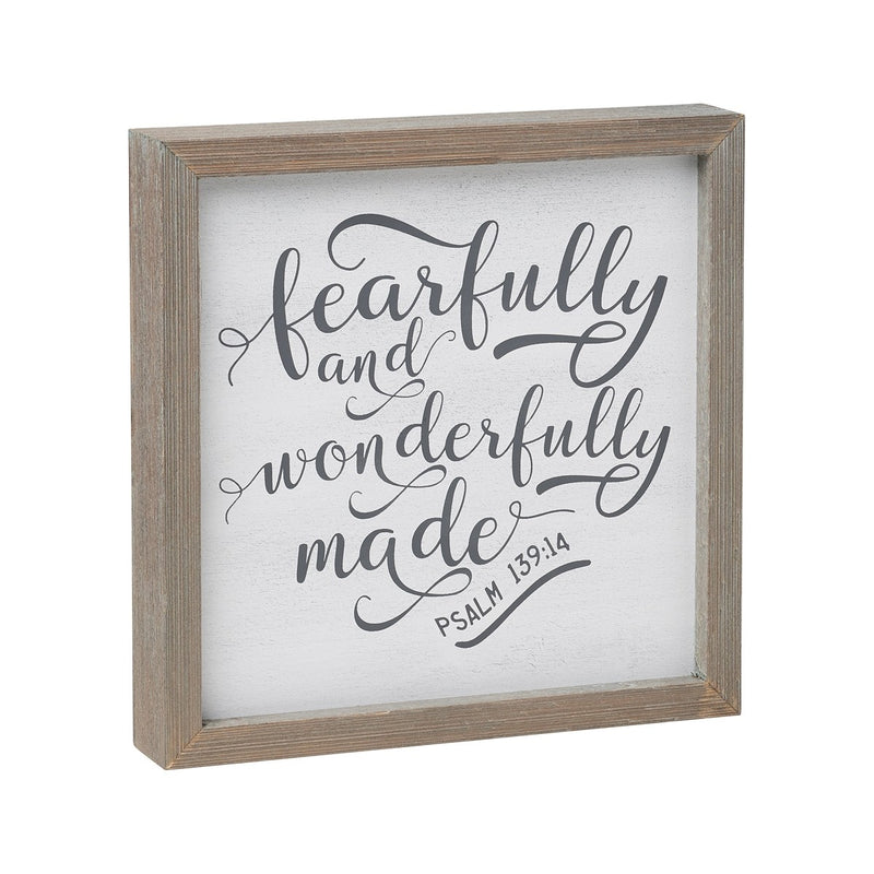 Wonderfully Made - Sign