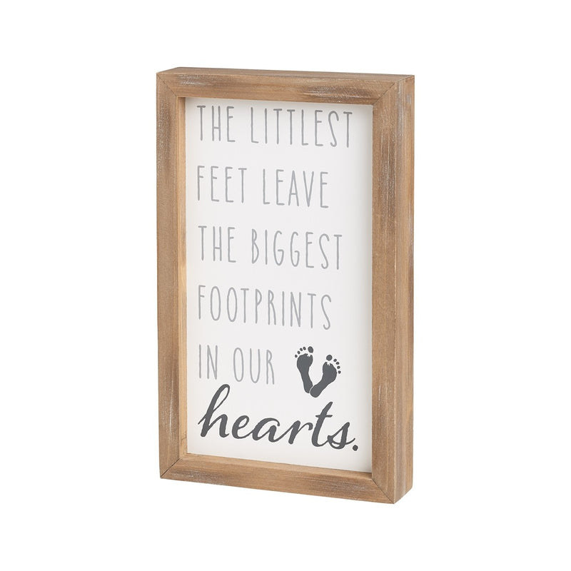 Footprints in Our Heart - Sign