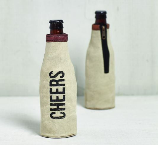 CHEERS - Bottle Koozie
