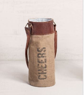 Cheers - Wine Koozie