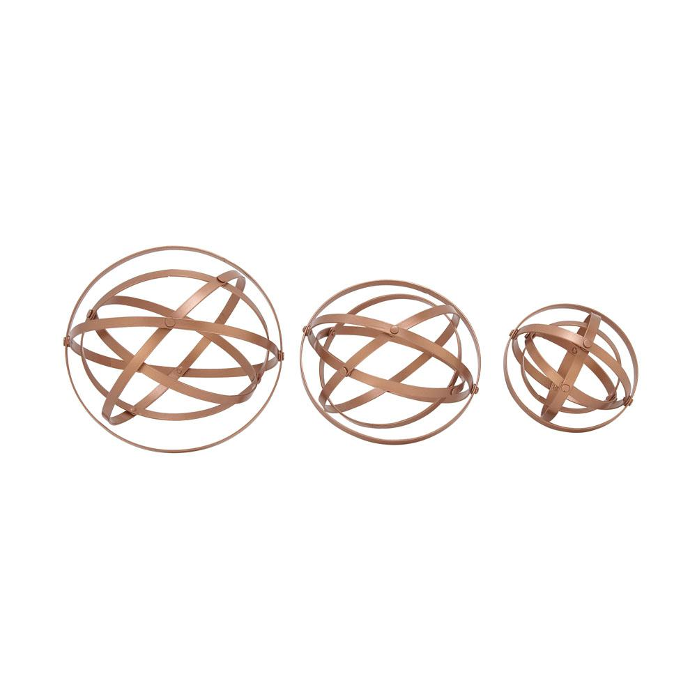 Copper Metal Orbs