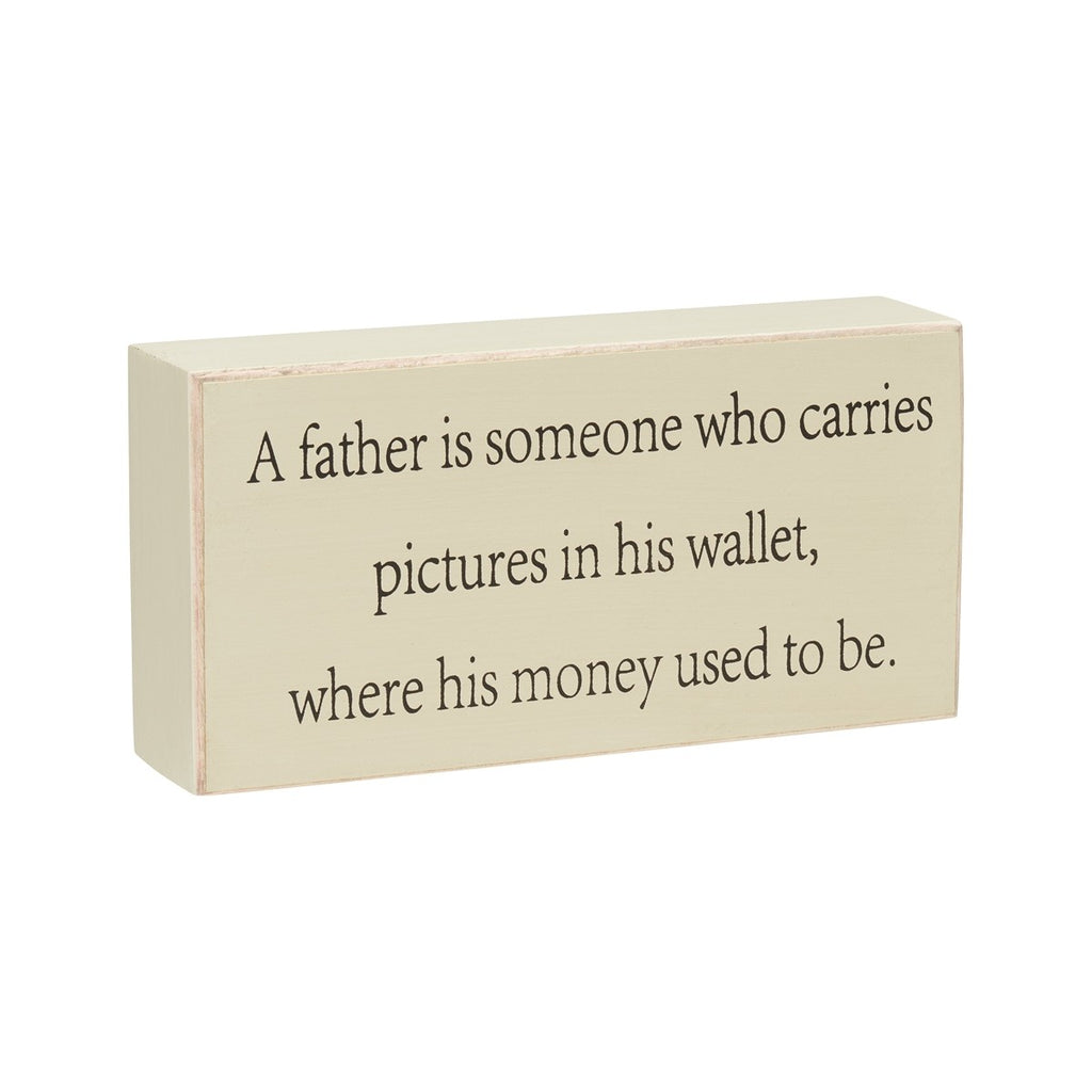Father's Wallet - Sign