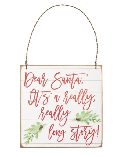 Dear Santa -  Ornament