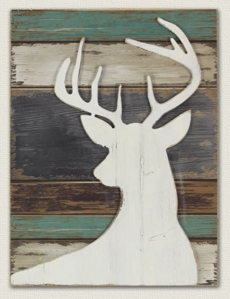 Deer - Barn Wood Sign