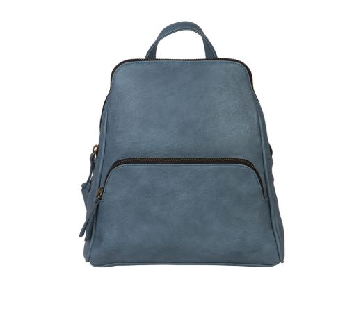 Grace Convertible Backpack - Dusty Blue
