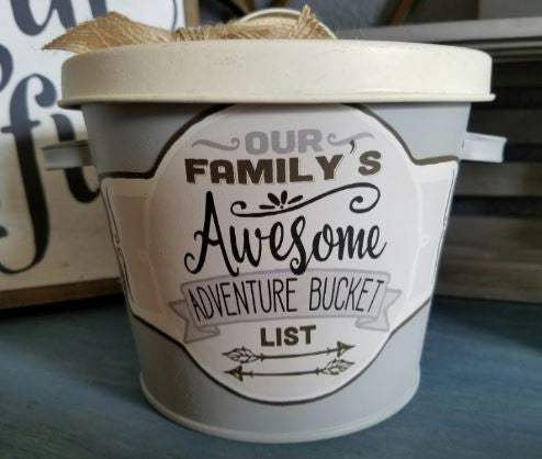 our family's awesome bucket list