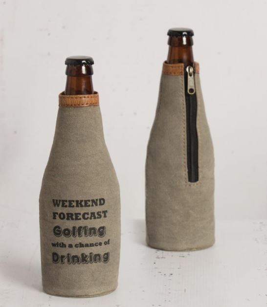 Golfing Forecast - Bottle Koozie